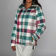 Ripcurl Woman's Sorcha Columbia Checked Ski Snowboarding Jacket- New with Tags