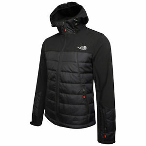 The North Face Tech Hybrid Softshell Jacket Black Size S M L XL XXL New Other*