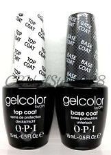 Soak-Off Gelcolor - BASE + TOP COAT opi .5oz DUO