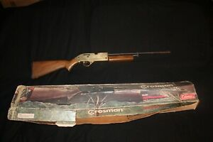 Vintage Crosman Gold 761 XL BB Gun 177 Cal. With 760 Box FOR PARTS OR REPAIR