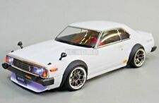 1/10 RC Car BODY Shell NISSAN SKYLINE HT 2000 190mm *FINISHED* WHITE