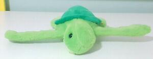 Wild Republic Huggers Sea Turtle Plush Toy Snapband 29cm Wide 18cm Long!
