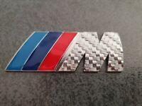 BMW M Logo Emblem Kühlergrill Silber NEU