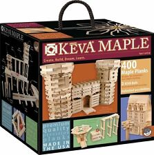 Mindware KEVA Planks 400 Maple Wood Planks Box Contraptions Made in USA