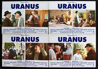 Fotobusta Uranus Communism Claude Berrie Marcel Ayme Depardieu Noiret R114