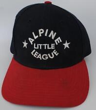 ALPINE LITTLE LEAGUE Baseball Cap Hat California Size SMALL Adjustable Strapback