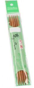 ChiaoGoo Bamboo Patina Nadelspiel Strumpf Stricknadel alle Stärken u. Längen