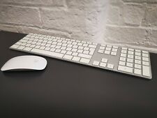 🍎Apple A1243 Wired Keyboard UK & Magic Mouse A1296 ✔Clean Condition ✔GENUINE