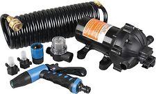 2x SEAFLO 12V 5.0 GPM 70 PSI Washdown Deck Wash Pump KIT for Caravan Rv