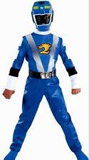 Power Rangers RPM blue Ranger Costume Size 7-8 New Medium M Med Standard