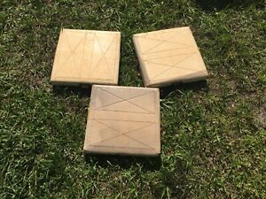 Baseball Softball Set Of 3 Bases Champro Sports Base Soft Portable B0102