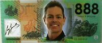 Craig Lowndes  Commemorative $888 note -- Not Legal Tender  ---