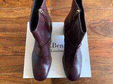 LK Bennett leather boots UK 9 42 in oxblood BNIB