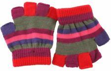 SSP Hats Striped Fingerless Gloves