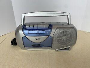 Portable Cassette Player Recorder w/ AM/FM Radio Tuner Speaker TESTED