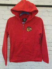 Chicago Blackhawks Official NHL sweater Kickoff jacket Women Small  - Brand NEW