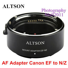 ALTSON Auto Focus Adaptor CEF-NZ for Canon EOS EF Lens to Nikon Z Z6 Z7 Camera