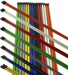 Golf Alignment Sticks 8 Different Colors To Choose (2 or 6 sticks) ***BARGAIN***