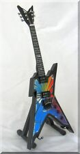 DIMEBAG DARRELL  Miniature Guitar Pantera Razorback Stained Glass