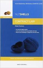 Nutshells Contract Law New Paperback Book Robert Duxbury