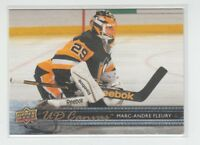 (69811) 2014-15 UPPER DECK CANVAS MARC-ANDRE FLEURY #C184