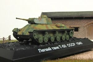 1:72 soviet light tank T-50 1940