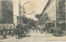 CARTE POSTALE / TOULON / QUARTIER / LE PONT DU LAS ROUTE DE MARSEILLE