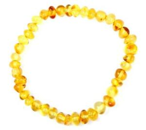 100% Genuine Amber Adult Bracelet - Elastic from UK Dristriibutor - BT0059
