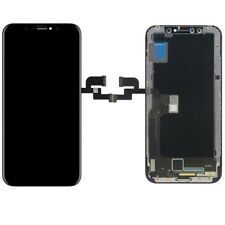 Display Lcd Unità Completa Touch Panel per Apple iPhone x 10 NERO RIPARAZIONE