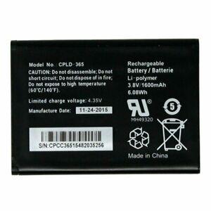 NEW OEM ORIGINAL Coolpad Rogue 4G 3320A CPLD-365 1600mAh GENUINE Battery