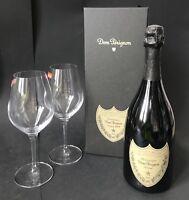 Dom Perignon Vintage 2009 Champagner 0,75l Flasche+ 2 Spiegelau Gläser 12,5% Vol