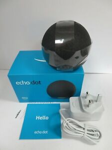 AMAZON ECHO DOT 4TH GENERATION ALEXA SMARTHOME WIFI SPEAKER - BLACK (RAE8)