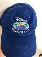 Disney vacation club hat Blue embroidered Mountain MEMBER WDW tag