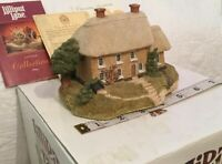 Lilliput Lane LIMERICK HOUSE 1989 Irish Collection Mint - Christmas