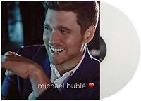 MICHAEL BUBLÉ ‎– LOVE LIMITED MILKY CLEAR VINYL LP (NEW/SEALED)