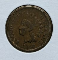 1868 1C Indian Head One Cent/Penny US Coin