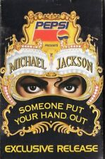 """MICHAEL JACKSON """"SOMEONE PUT YOUR HAND OUT+MEDLEY"""" PROMO CASSETTE SINGLE / PEPSI"""