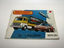 Matchbox Superfast 1979/80 Catalogue UK Edition - No Graffiti - Very Good