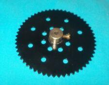 meccano roue de chaine 56 dents, No95b noire