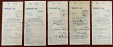 More details for lyndhurst ontario canada 5 x antique post office money orders 1905