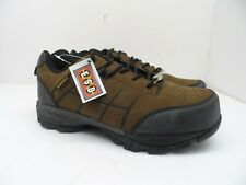 Nautilus Men's Athletic Oxford Work Shoe Soft Toe N4840 Brown Size 10M