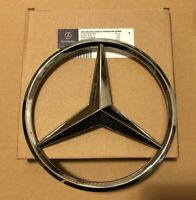 MERCEDES A,C,GLA,GLK,CLA,CLS,E SLK Class FRONT GRILLE STAR BADGE Chrome OEM-fit