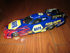 AUTO WORLD RON CAPPS NHRA DODGE CHARGER FUNNY CAR 1/24 DIE CAST REPLICA W/BOX NH