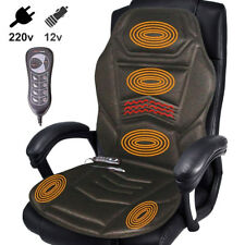 Sedile Massagiante Cuscino Massaggio Auto Casa Ufficio Massagiatore Riscaldante