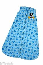 Mickey Mouse Wearable Blanket Medium 6-12 Months Microfleece Sleepsack Bunting