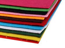 12 Platten Dekorativer Bastelfilz  20x30 cm Filzplatten 1,5mm-2mm Mix 1 Filz