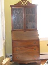 Governor Winthrop style one piece vintage secretary/desk. Made in America.