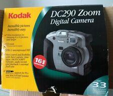 Kodak DC290 Zoom Digital Camera 6X Zooms USB With Case New In Open Box