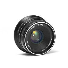 7artisans 25mm/f1.8 Manual Focus Fixed Lens Canon EOS EF 5d3 5d2 6d