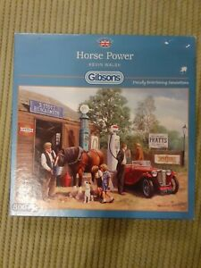 500 piece jigsaw Gibsons Horse power kevin walsh